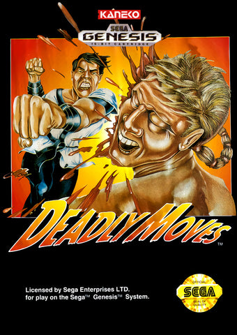 Deadly Moves - SEGA Genesis [USED]