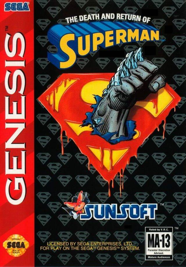 The Death and Return of Superman - SEGA Genesis [USED]