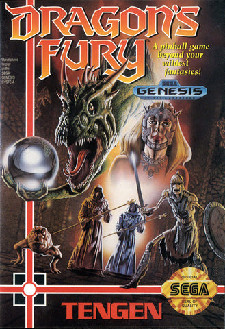 Dragon's Fury - SEGA Genesis [USED]