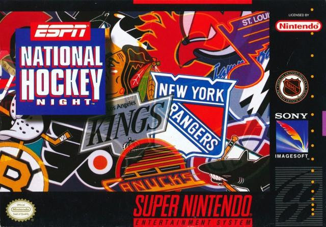 ESPN National Hockey Night - Super Nintendo [USED]