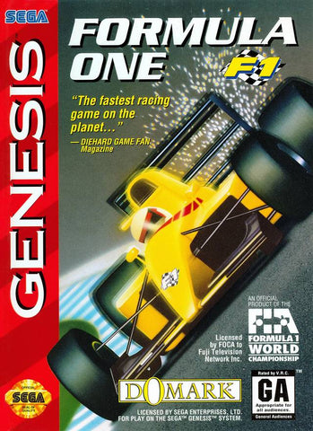 Formula One - SEGA Genesis [USED]