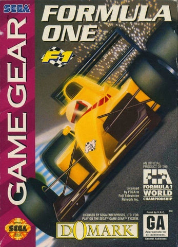 Formula One - SEGA GameGear [USED]