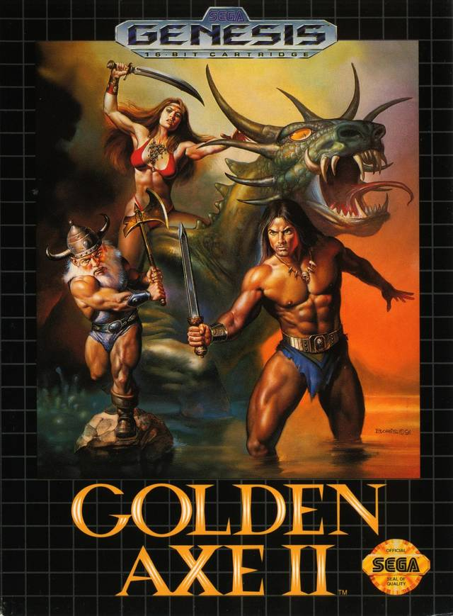 Golden Axe II - SEGA Genesis [USED]