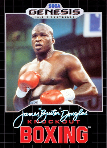 James 'Buster' Douglas Knockout Boxing - SEGA Genesis [USED]