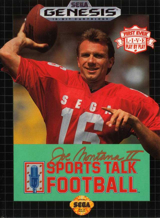Joe Montana II: Sports Talk Football - SEGA Genesis [USED]