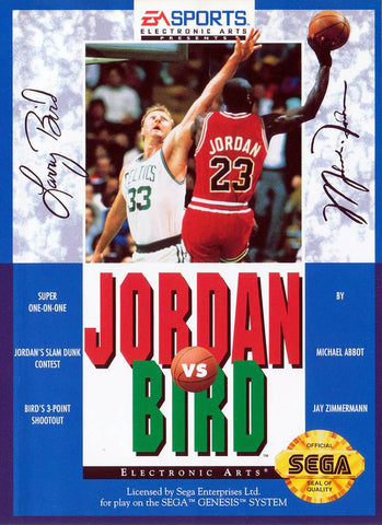 Jordan vs Bird - SEGA Genesis [USED]