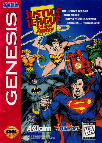 Justice League Task Force - SEGA Genesis [USED]