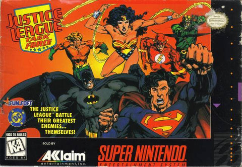 Justice League Task Force - Super Nintendo [USED]
