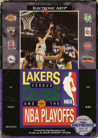 Lakers versus Celtics and the NBA Playoffs - SEGA Genesis [USED]