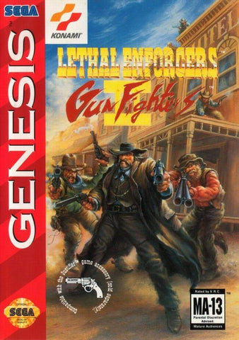 Lethal Enforcers II: Gun Fighters - SEGA Genesis [USED]
