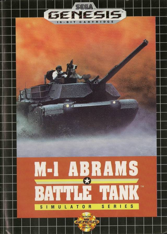 M-1 Abrams Battle Tank - SEGA Genesis [USED]