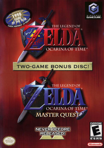 The Legend of Zelda: Ocarina of Time / Master Quest - GameCube [USED]