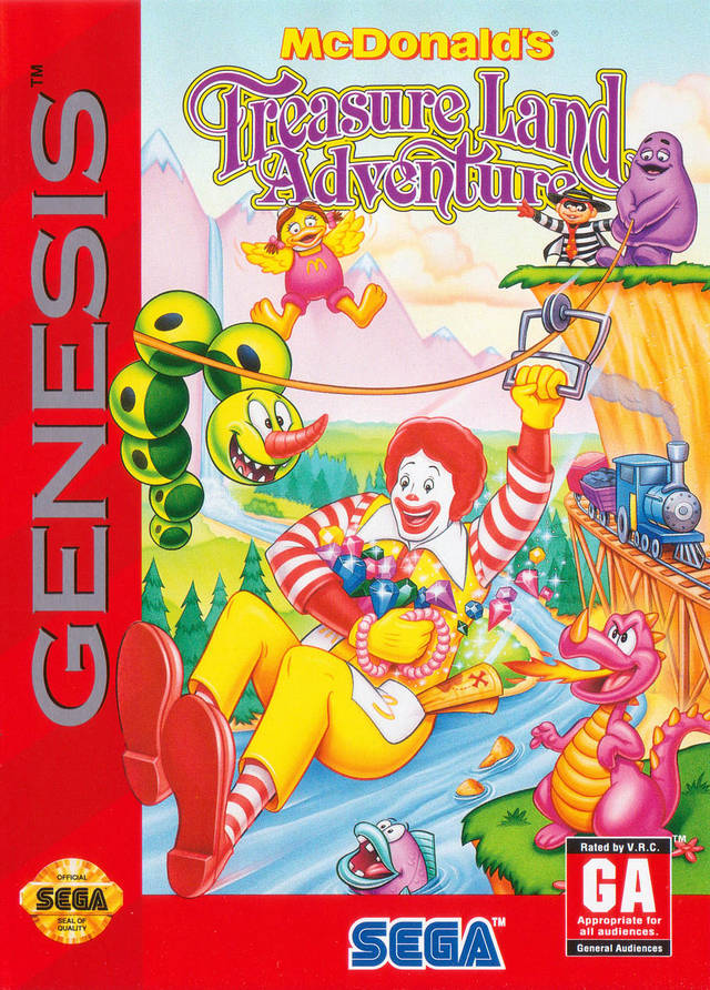 McDonald's Treasure Land Adventure - SEGA Genesis [USED]