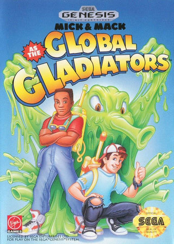 Mick & Mack as the Global Gladiators - SEGA Genesis [USED]