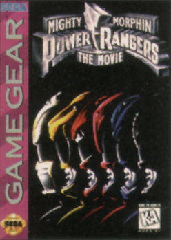 Mighty Morphin Power Rangers: The Movie - SEGA GameGear [USED]