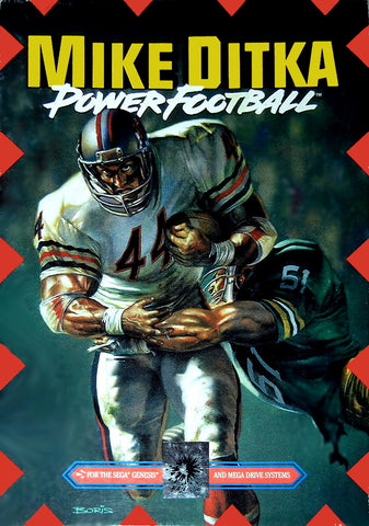 Mike Ditka Power Football - SEGA Genesis [NEW]