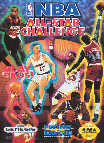 NBA All-Star Challenge - SEGA Genesis [USED]