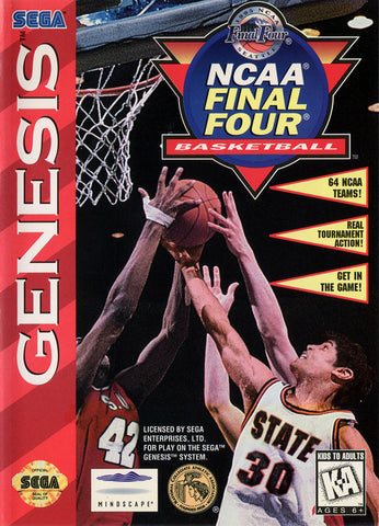 NCAA Final Four Basketball - SEGA Genesis [USED]