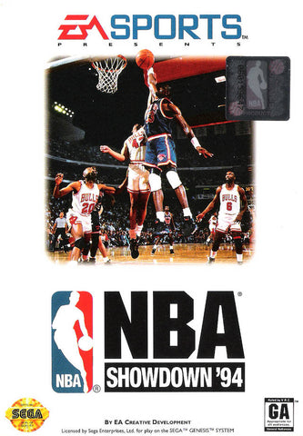 NBA Showdown '94 - SEGA Genesis [USED]