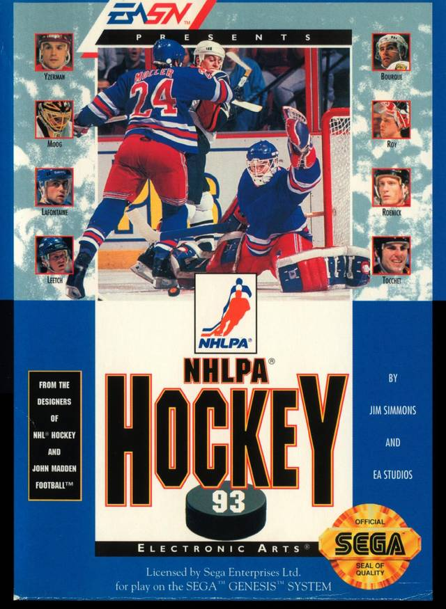 NHLPA Hockey 93 - SEGA Genesis [USED]
