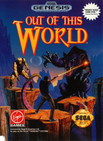 Out of This World - SEGA Genesis [USED]