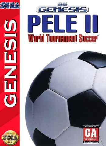 Pele II: World Tournament Soccer - SEGA Genesis [USED]
