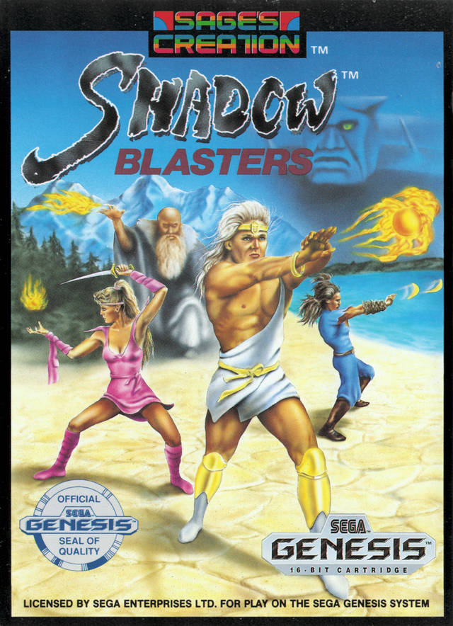 Shadow Blasters - SEGA Genesis [USED]