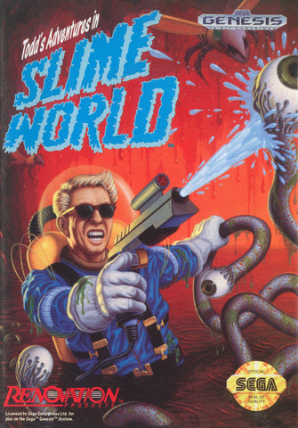 Todd's Adventures in Slime World - SEGA Genesis [USED]
