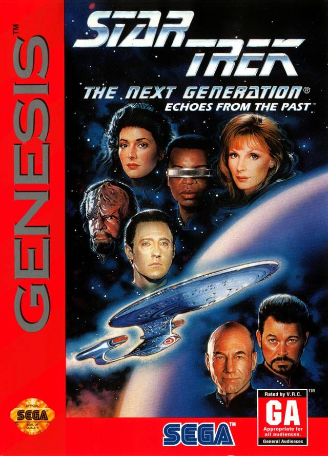Star Trek: The Next Generation: Echoes From the Past - SEGA Genesis [USED]