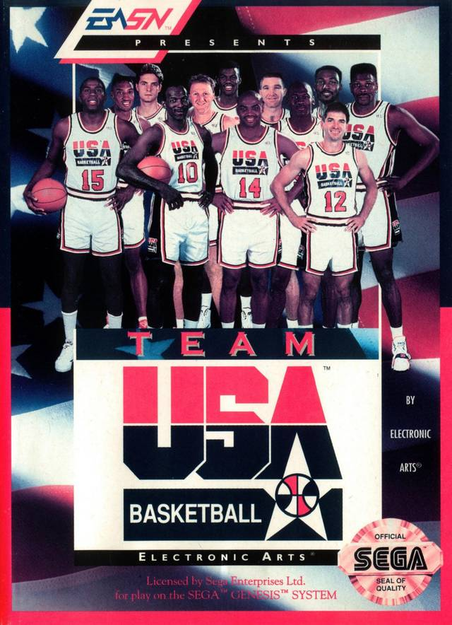 Team USA Basketball - SEGA Genesis [CIB]