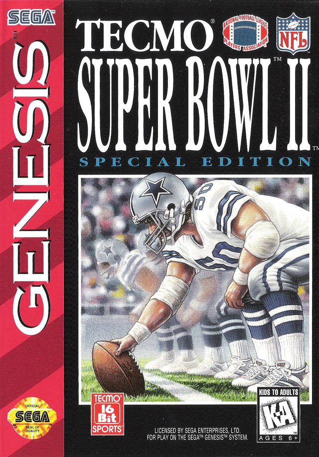 Tecmo Super Bowl II: Special Edition - SEGA Genesis [USED]