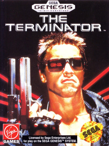 The Terminator - SEGA Genesis [USED]