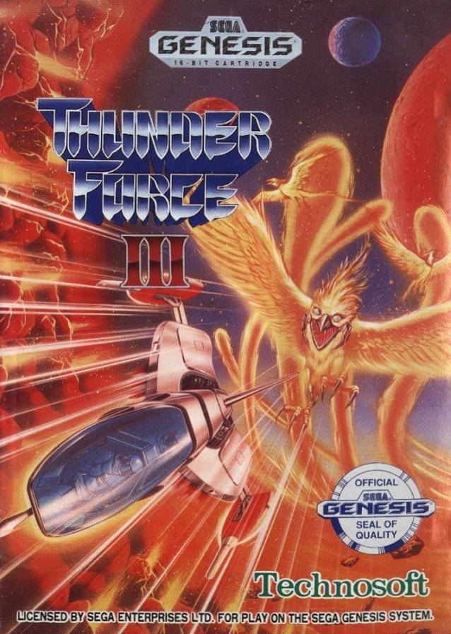 Thunder Force III - SEGA Genesis [USED]