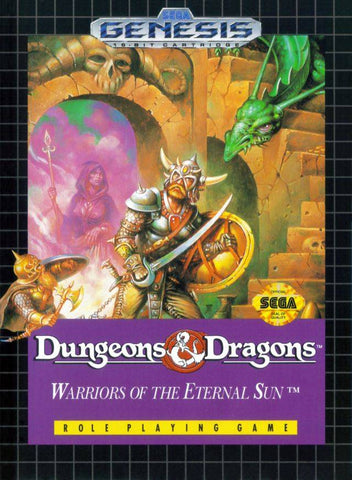 Dungeons & Dragons: Warriors of the Eternal Sun - SEGA Genesis [USED]