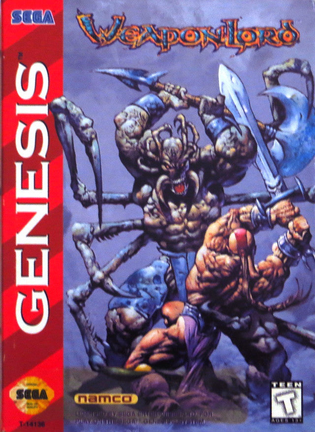 WeaponLord - SEGA Genesis [USED]
