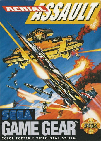 Aerial Assault - SEGA GameGear [USED]