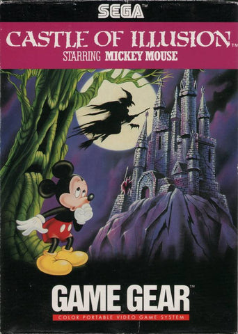 Castle of Illusion starring Mickey Mouse - SEGA GameGear [USED]