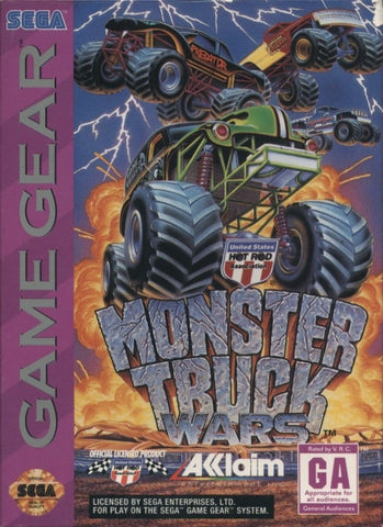 Monster Truck Wars - SEGA GameGear [USED]