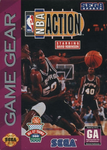 NBA Action starring David Robinson - SEGA GameGear [USED]
