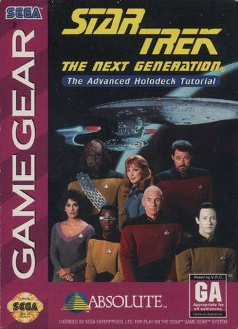 Star Trek: The Next Generation: Advanced Holodeck Tutorial - SEGA GameGear [USED]