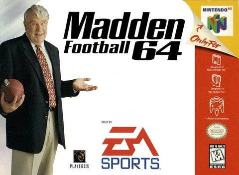 Madden Football 64 - Nintendo 64 [USED]