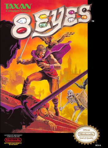 8 Eyes - Nintendo NES [USED]