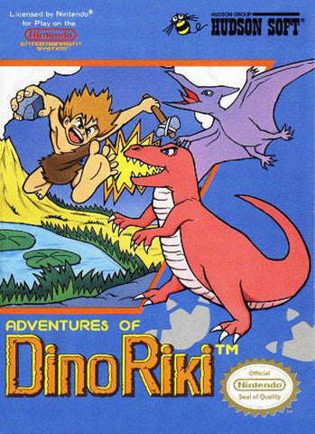 Adventures of Dino Riki - Nintendo NES [USED]