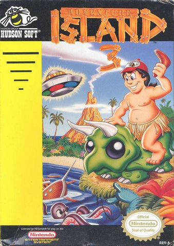 Adventure Island 3 - Nintendo NES [USED]