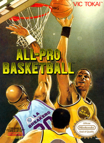 All-Pro Basketball - Nintendo NES [USED]