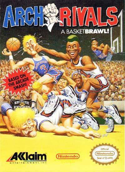 Arch Rivals: A Basket Brawl! - Nintendo NES [USED]