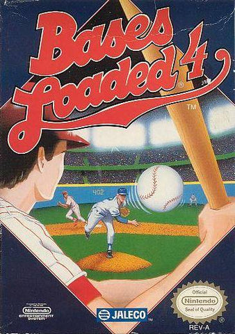 Bases Loaded 4 - Nintendo NES [USED]