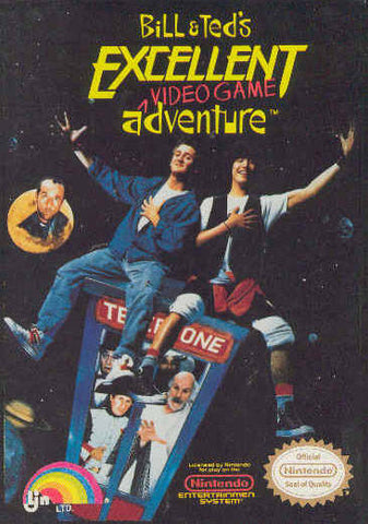 Bill & Ted's Excellent Video Game Adventure - Nintendo NES [USED]