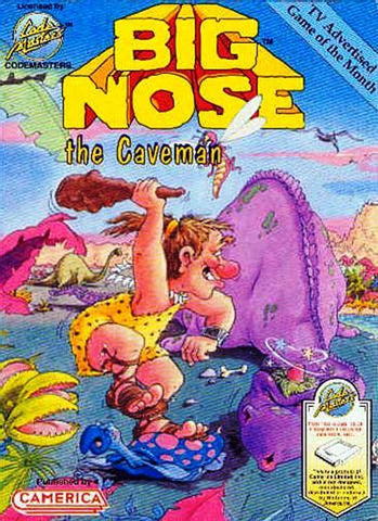 Big Nose the Caveman - Nintendo NES [USED]