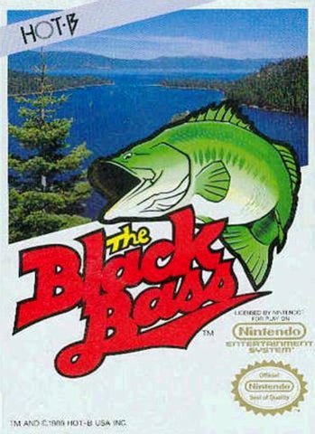 The Black Bass - Nintendo NES [USED]